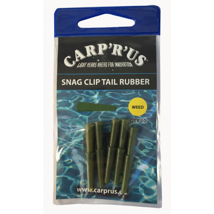 "Carp'R'Us ""Tail Rubbers"" Weed"