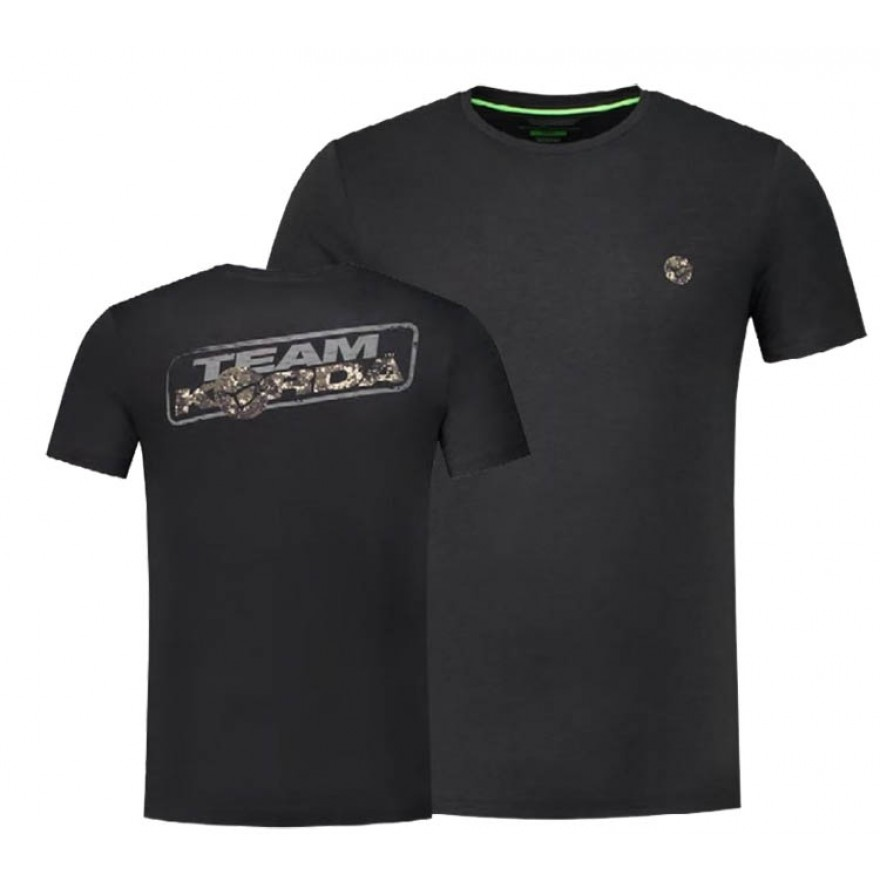 Korda Kore Digital Camo TK Tee Black - XL