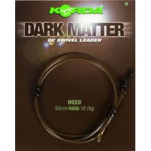 Korda Dark Matter Kamo QC Swivel Leader 50 cm - Clear