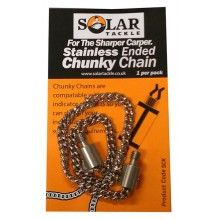 Solar Tackle Stainless Chain Stainless Ended - 5 inch