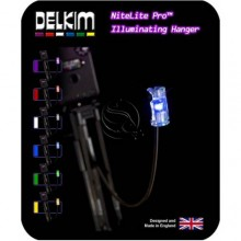 Delkim Nitelite Pro Illuminating Hanger - Purple