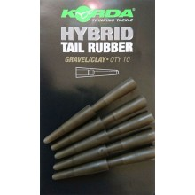 Korda Hybrid Tail Rubber - Gravel/Clay