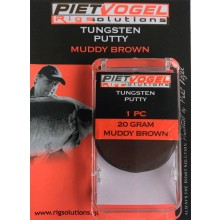 Piet Vogel Tungsten Putty - Muddy Brown