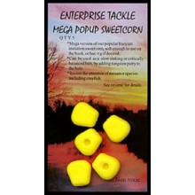 "Enterprise Tackle ""Mega Pop Up Sweetcorn"" Yellow"